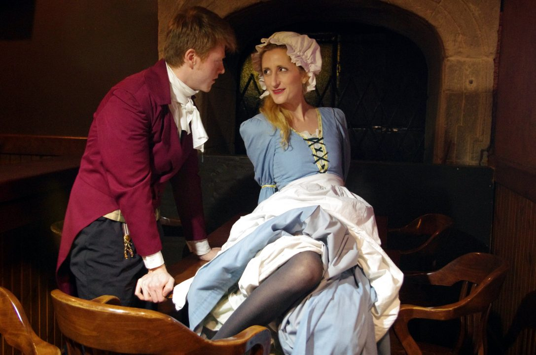 She Stoops To Conquer Flirting