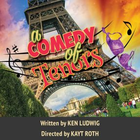 Effel Tower Graphic for A Comedy of Tenors