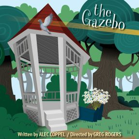 Drawing of a gazebo - the show graphic
