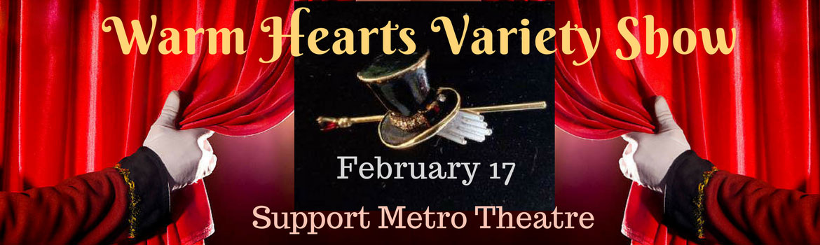 Metro Theatre Fund Raiser Feb 2018