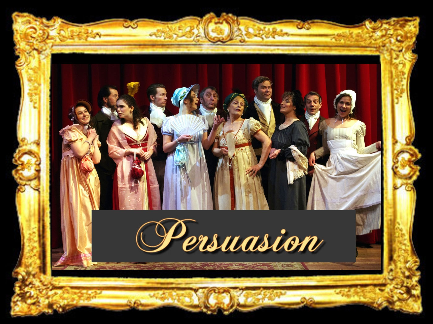 FRamed Cast Photo of Persuasion